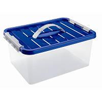 Контейнер для хранения пластиковый 14л, 40*29*18 см, Heidrun 1634