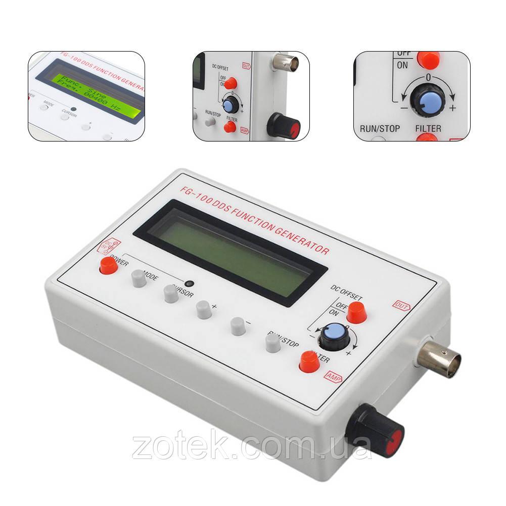 FG-100 1 Гц-500 кГц  DDS генератор сигналов различной формы