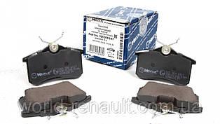MEYLE (Германия) 025 209 6117 - Комплект задних тормозных колодок Рено Меган 3