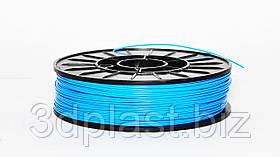 PLA пластик 3Dplast для 3D принтера 1.75 мм 0.85, Блакитний