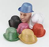 Блискуча карнавальний капелюх для фотосесії на день народження 1927, фото 2