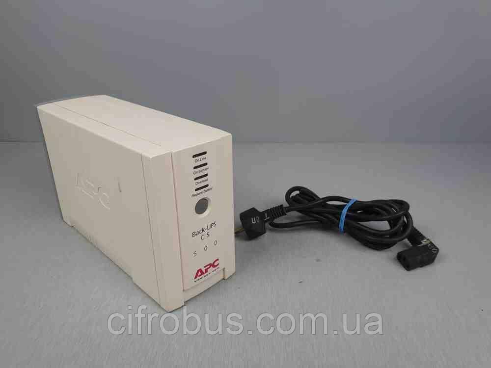 Источники бесперебойного питания Б/У APC Back-UPS BK500-RS