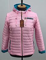 Модная демисезонная женская куртка жилетка трансформер  р. 42, 44, 46, 48, 50, 52, 54, 56, 58, 60, 62, 64, 66, фото 1