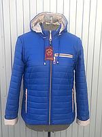 НЕДОРОГО модна жіноча демісезонна куртка трансформер р. 42, 44, 46, 48, 50, 52, 54, 56, 58, фото 1