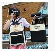 Рюкзак женский городской молодежный Комплект 106G