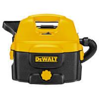 Аккумуляторный/сетевой пылесос для сухой и влажной уборки (без батареи) DeWALT DC500