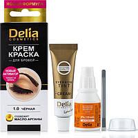 Крем-фарба для брів - Delia Cosmetics Color Cream Eyebrow Dye (Оригінал), фото 1