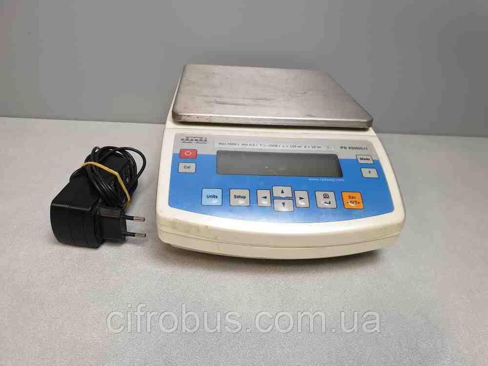 Лабораторное оборудование Б/У Radwag PS 4500