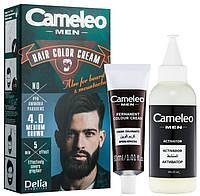Мужская краска для бороды и усов - Delia Cameleo Men Hair Color Cream (Оригинал), фото 1