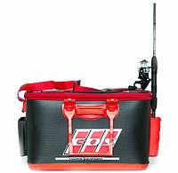 Сумка спиннинговая ЭВА EOS 40 см с держателями для удилищ