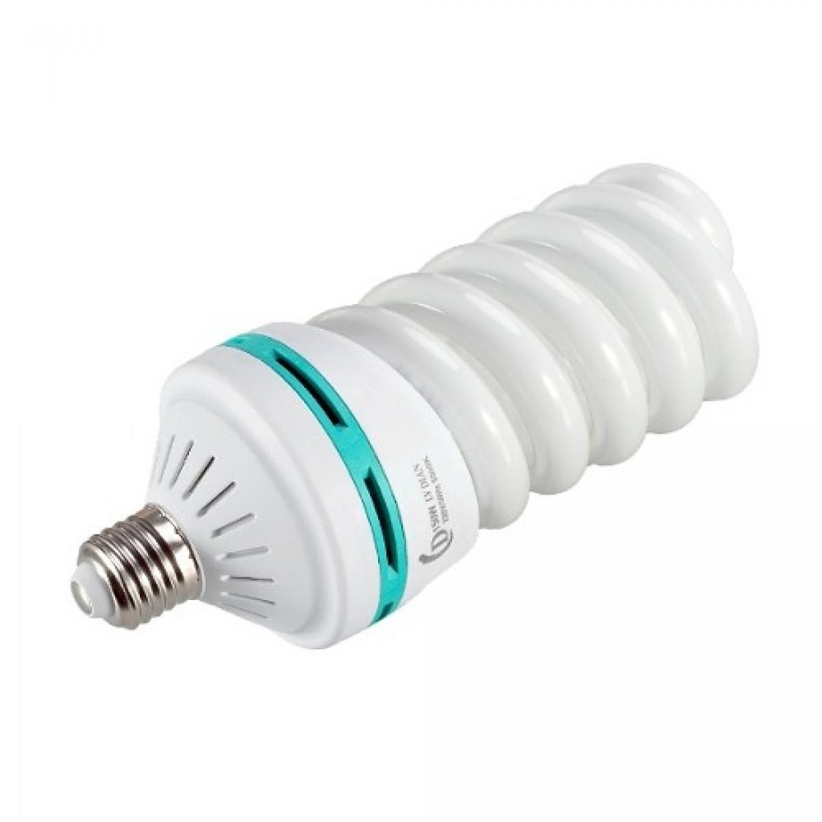 Флуоресцентная лампа для студийного света Fotobestway 65 Вт (цоколь E27, 5500 K)