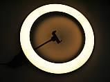 Кольцевая LED лампа AL-390 с пультом + Штатив тренога (39см 220V 1 крепл.тел.), фото 10
