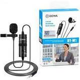 Петличний мікрофон всеспрямований Boya BY-M1, фото 2