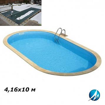 Зимовий накриття для басейну 4,16х10 м
