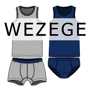 Комплекти чоловічої нижньої білизни Wezege