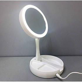 Зеркало для макияжа с подсветкой My Fold Jin Ge JG-988