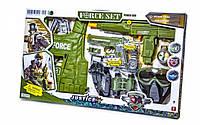 Детский набор Force Set военный спецназ с бронежилетом 34280
