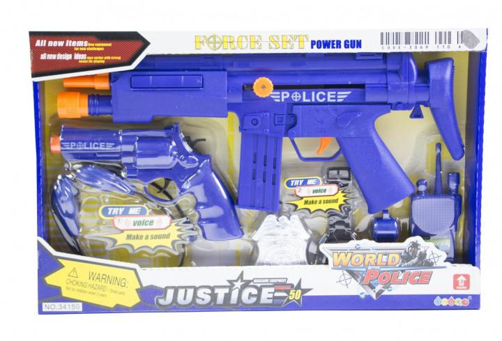 Дитячий набір Поліцейський спецназ Toys SWAT 34150
