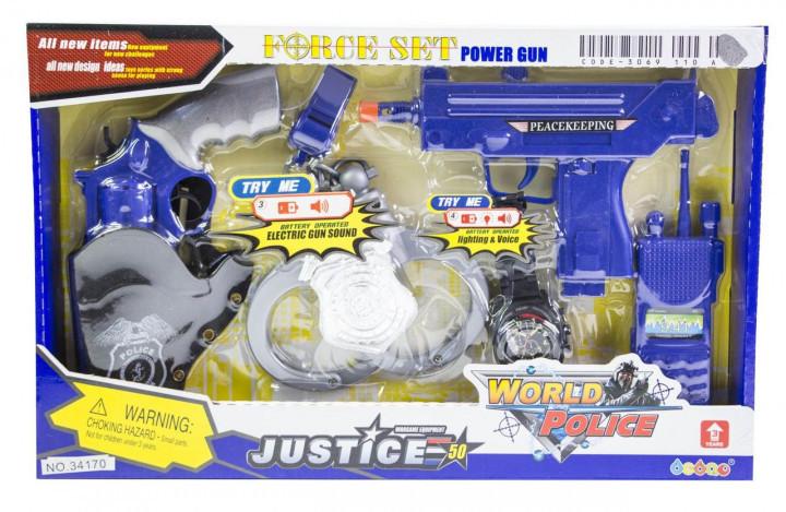 Детский набор Полицейский спецназ Toys SWAT 34170