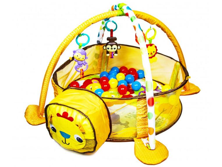 Детский развивающий коврик-манеж Львенок 88969