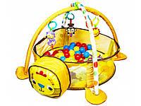 Детский развивающий коврик-манеж Львенок 88969, фото 1