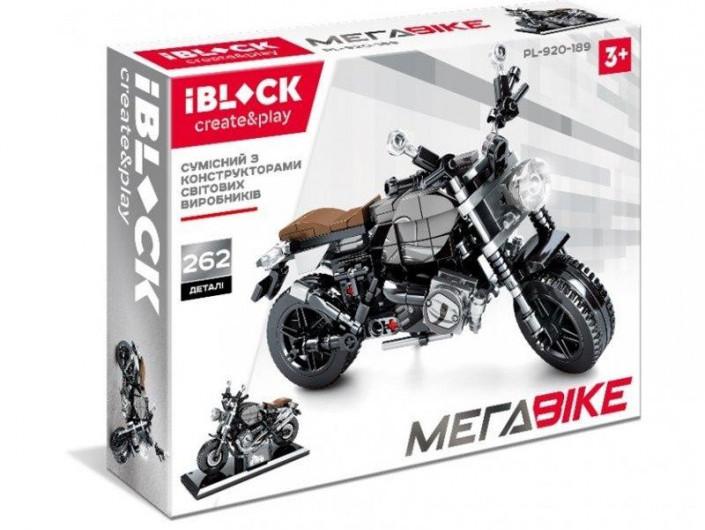 Конструктор мотоцикл iBlock Мegabike PL-920-189 262 деталі