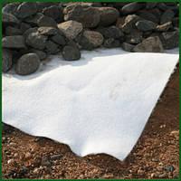 Геотекстиль белый гидроскрепленный Agreen Geo 250гр/м2 ( 1.60м/25м )