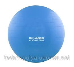 М'яч для фітнесу і гімнастики POWER SYSTEM PS-4018 85 cm Blue (PS-4018_85cm_Blue)
