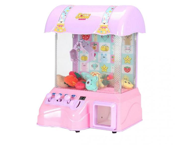 Дитячий апарат для витягування іграшок 3301 Рожевий