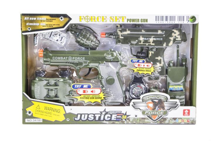Детский набор Force Set военный 34180
