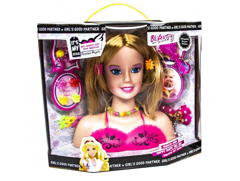 Лялька-манекен для зачісок і макіяжу