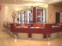 Торговое оборудование для ювелирных магазинов под заказ