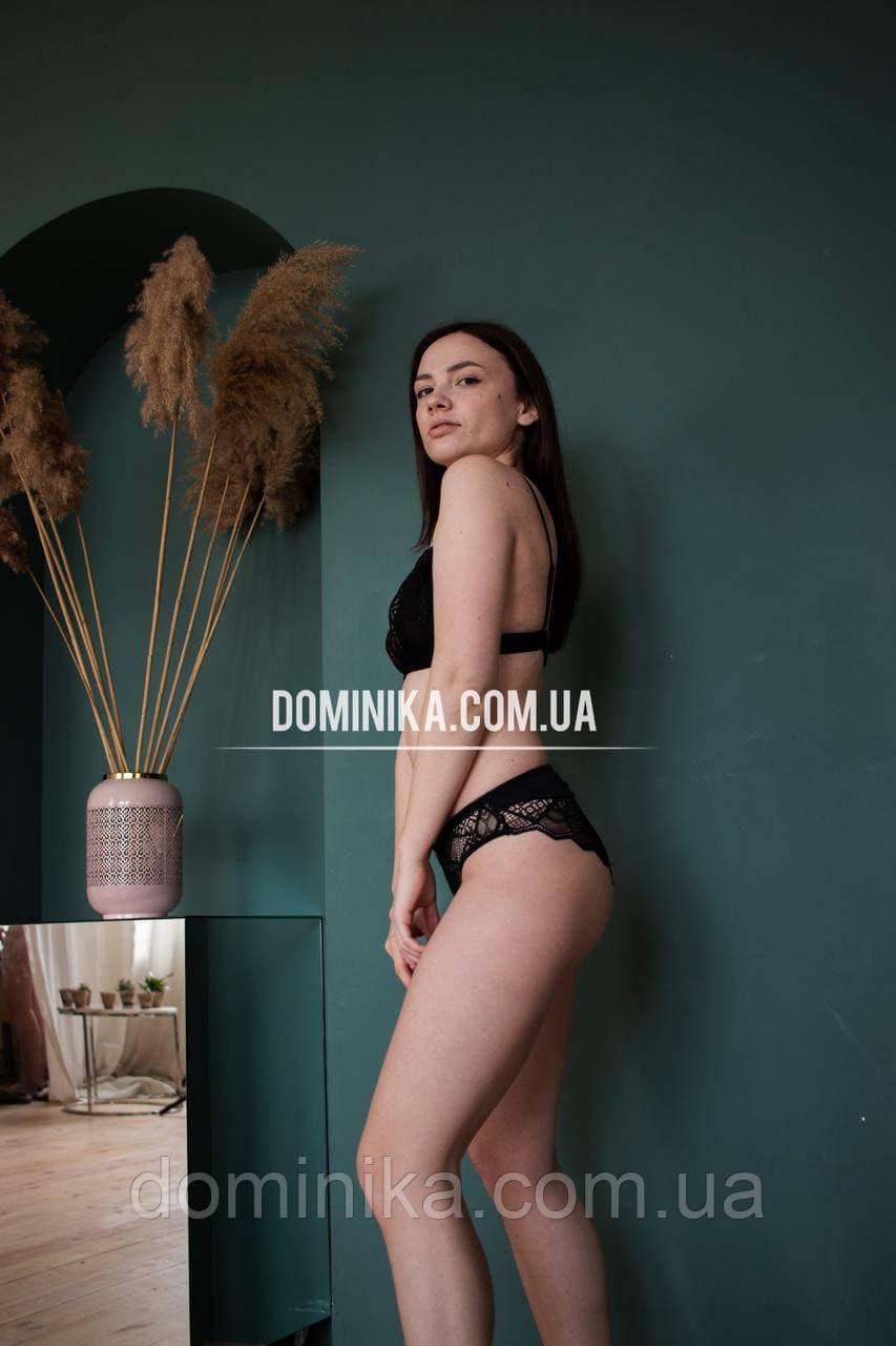 85В Черный кружевной сексуальный комплект нижнего белья, прозрачный бюстгальтер с портупеей