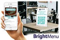 BrightSign бесконтактное цифровое меню BrightMenu для кафе, ресторанов, отелей