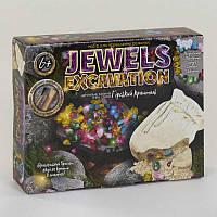 "Набор для проведения раскопок ""Jewels Excavation"" JEX-01-02 камни укр. ""ДАНКО ТОЙС"""