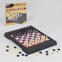 Шахматы 3508 (168/2) 2 в 1, магнитные