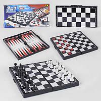 """Шахматы 87807  """"TK Group"""" 3в1, магнитные"""