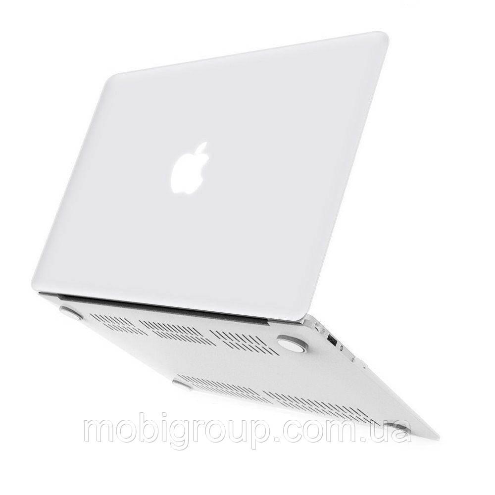 Чехол HardShell MacBook PRO 13 2016/2017/2018, MATTE CLEAR