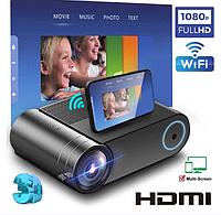 Мультимедийный портативный LED проектор HDMI USB WiFi Multi YG550 проектор для домашнего кинотеатра