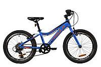 "Велосипед 20"" Formula ACID 2020 (синьо-чорно-помаранчевий) (Безкоштовна доставка )"