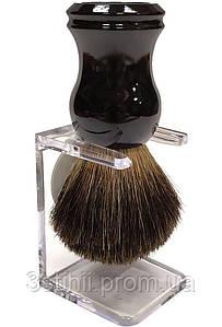 Помазок для бритья барсук Rainer Dittmar Pfeilring 1002-6-1 на подставке Черный