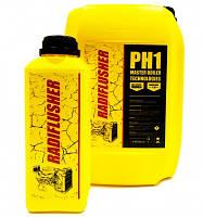 RADIFLUSHER pH1, 1 л - жидкость для промывки систем охлаждения, печек, радиаторов
