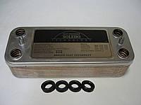 Теплообменник ГВС вторичный пластинчатый 16 пл. Nobel Plus, фото 1