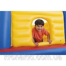 """Дитячий надувний ігровий батут Intex 48259 """"Замок"""" (175х175х135) / надувний ігровий центр, фото 3"""