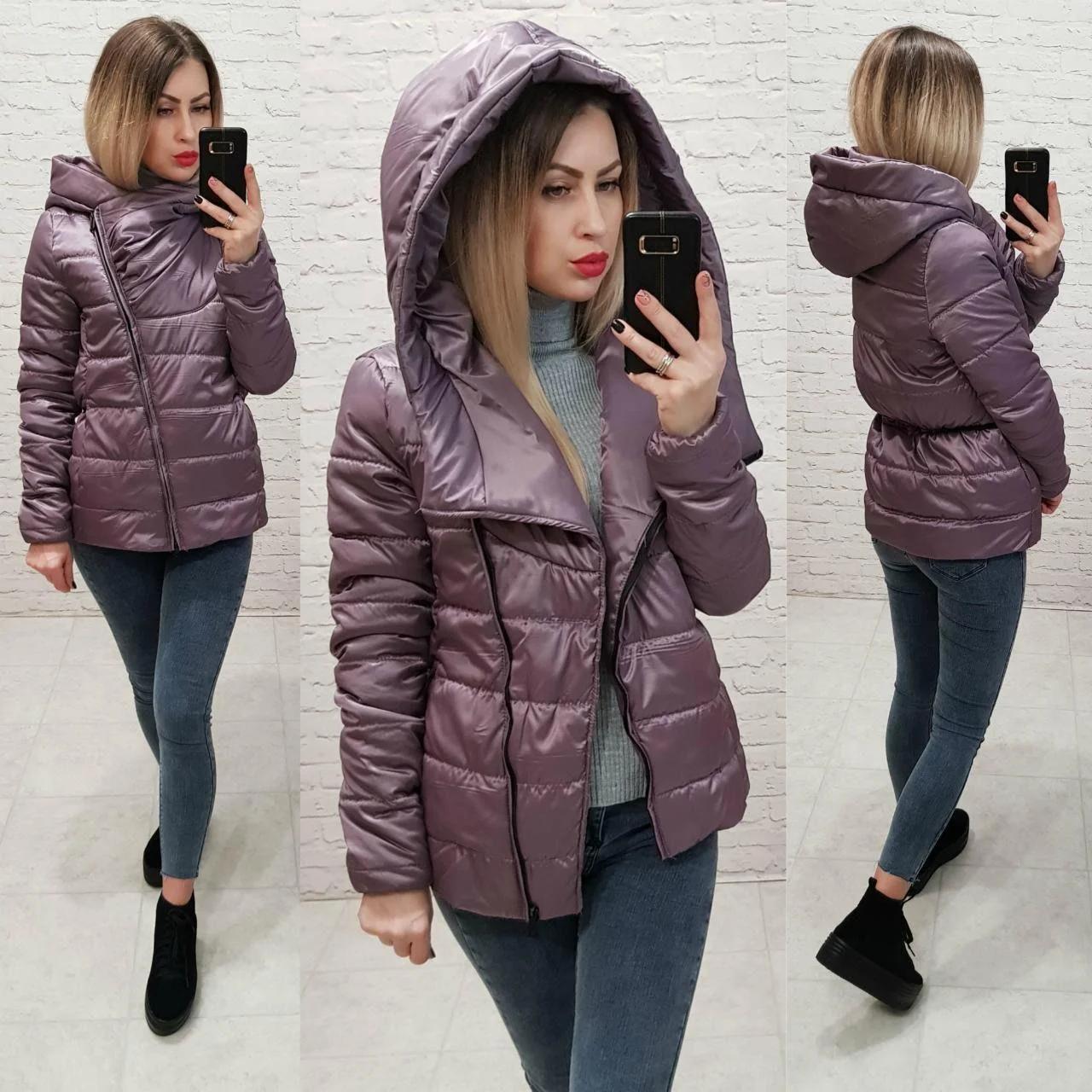 НЕДОРОГО модная демисезонная женская куртка  р. 42, 44, 46, 48 много расцветок!!!