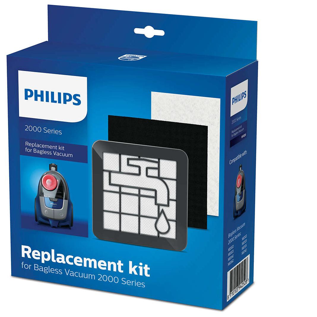 Philips XB2022, XB2023, XB2042, XB2062, XB2122, XB2123, XB2125, XB2142 фильтры для контейнерного пылесоса