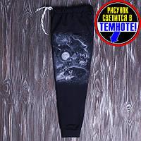 Спортивные штаны для мальчика светятся в темноте от 128 до 146 см