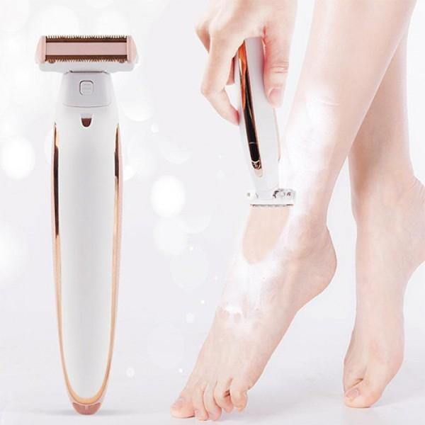 Електробритва тример на акумуляторі для видалення волосся з тіла Flawless Body
