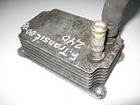 Маслоохладитель (теплообменник) б/у на Ford Transit 2.4D год 2000-2006