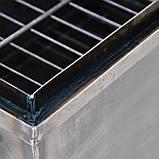 Коптильня горячего копчения 1мм 520х310х260мм с термометром + Щепа (коптилка,каптилка), фото 8